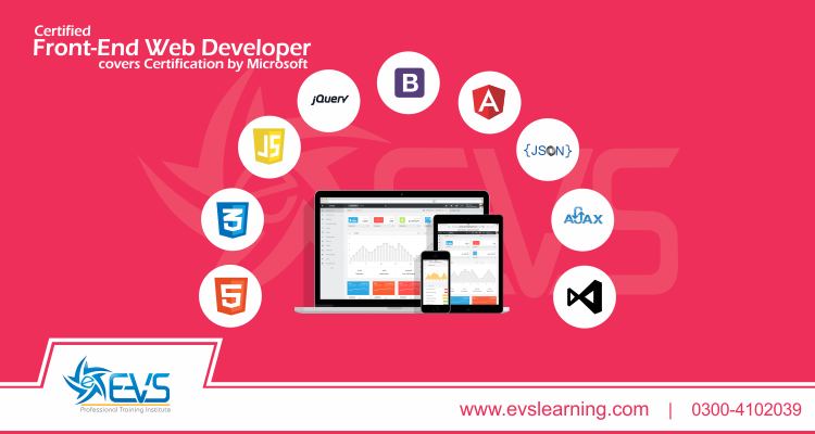 Front End Web Development Course in Lahore, Rawalpindi & Online